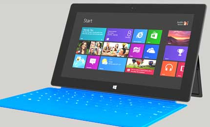 Surface tablet dictionary definition