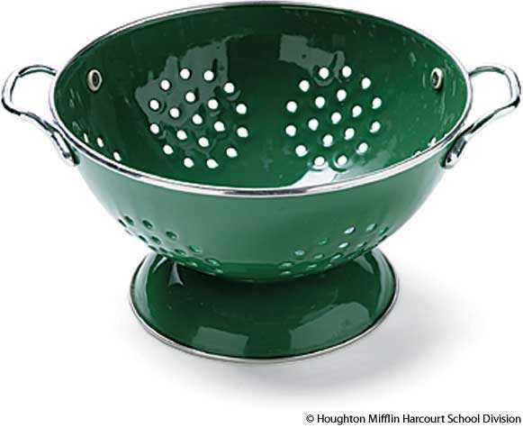 Colander Dictionary Definition Colander Defined
