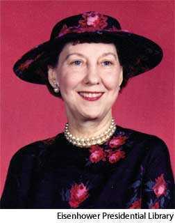 Eisenhower Mamie Geneva Doud