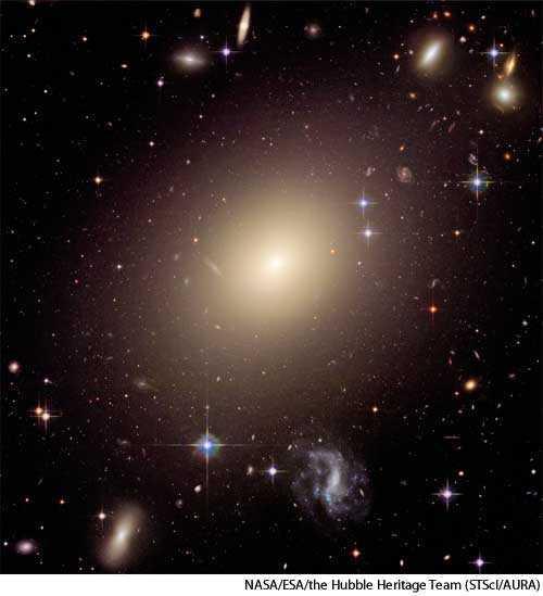 elliptical galaxy