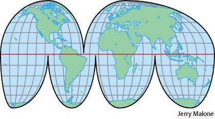 homolosine projection