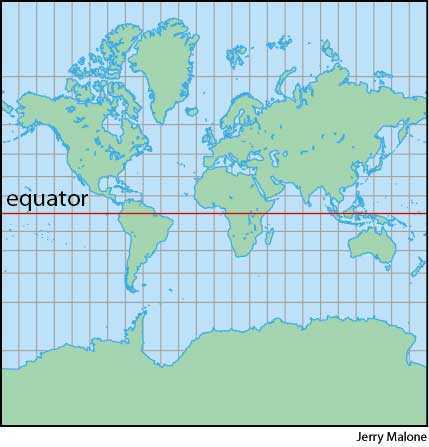High Quality Mercator Projection