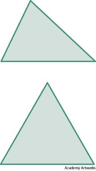 oblique triangle