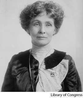 Pankhurst Emmeline Goulden