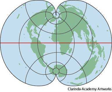 polyconic projection