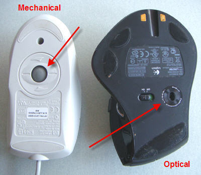 Optical mouse dictionary definition | optical mouse defined