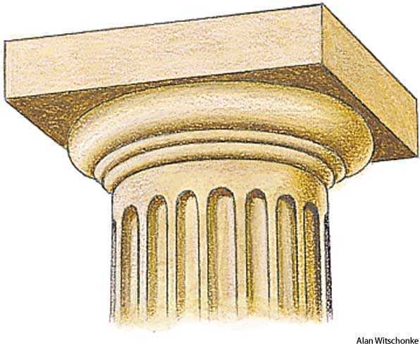 doric order dictionary definition
